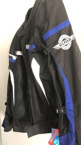Jaqueta Motociclista com Proteção ajustes Importada - Foto 6