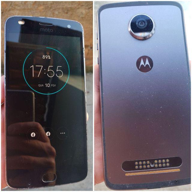 Vende-se celular MOTO Z 2 PLAY  - Foto 2