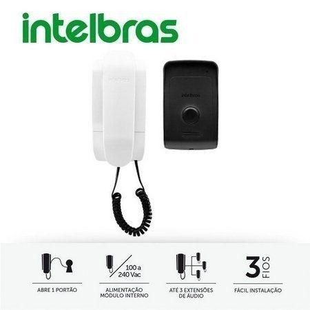 Interfone Porteiro Intelbras Residencial