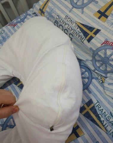 Travesseiro Gestante almofada Gravida - Foto 3