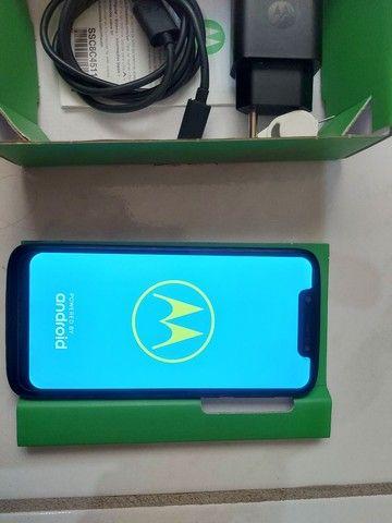 Moto G7 Play 32G novo sem risco sem arranhões  - Foto 5