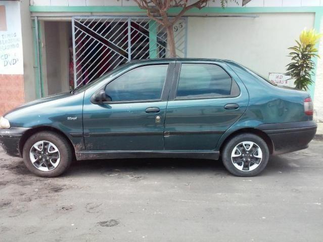 FIAT SIENA 1999 VERDE, 1.0 . CONSERVADO, COM ARCONDICIONADO