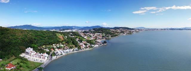 Terreno 458 m² com Vista para o Mar na Ponta de Baixo - São José - Foto 4