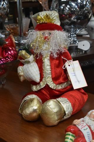Enfeite de natal Papai Noel - Mercado das Pulgas