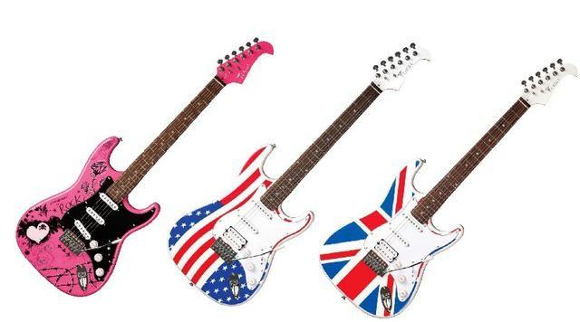 Guitarra Eagle Stratocaster Sts002 Nova Promoção