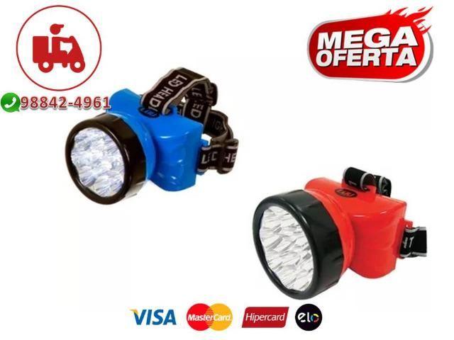 Lanterna de LED para cabeça