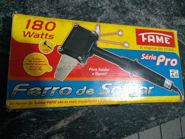 Ferro de Solda Profissional 180w - MarcaFAME tipo Machadinha