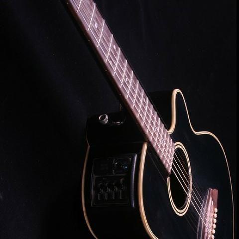 Violão Takamine Modelo Ef261 S Bl - Graph-ex Pré Amp