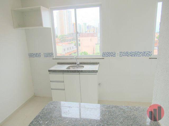Kitnet com 2 dormitórios para alugar, 40 m² por R$ 975,00/mês - Varjota - Fortaleza/CE - Foto 7
