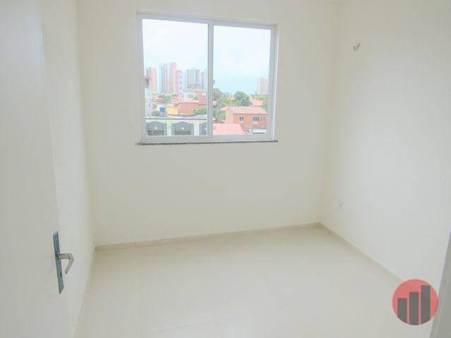 Kitnet com 2 dormitórios para alugar, 40 m² por R$ 975,00/mês - Varjota - Fortaleza/CE - Foto 4