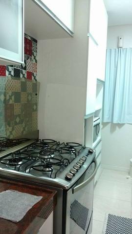 Vendo apt padrão, 2 qtos, sendo uma suíte, cozinha americana, projetado - Foto 10