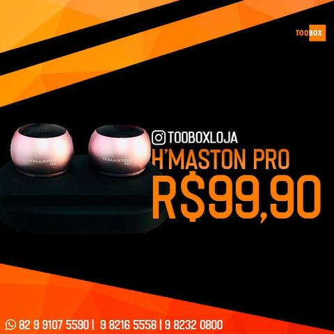 Caixinha de Som H'Maston Pro