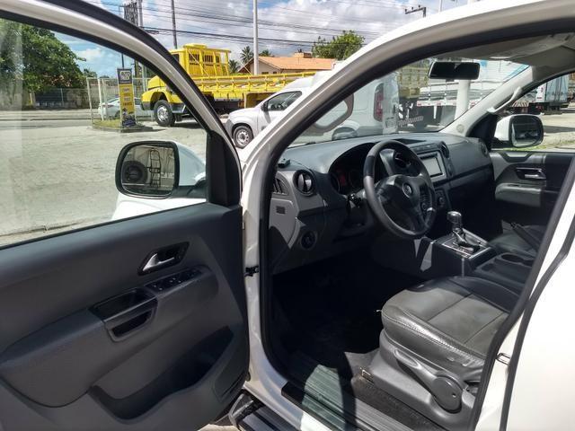 VW Amarok 2.0 Trendline TDI 4x4 Automatica 2013 - Foto 11