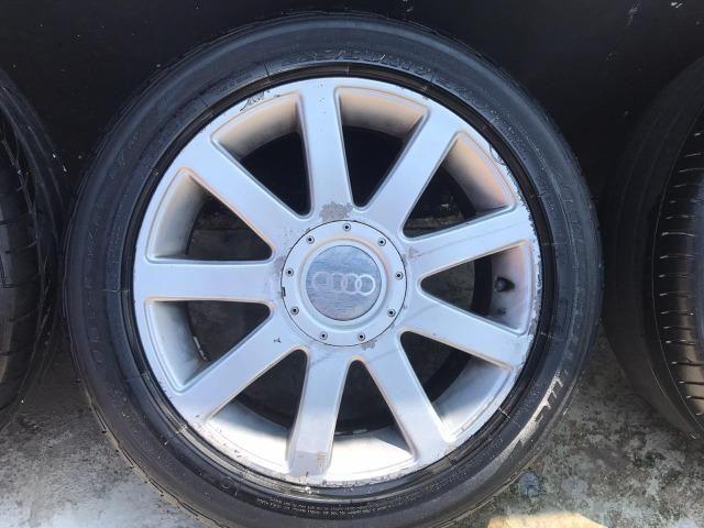 Jogo de rodas Aro 17 Audi RS4 Até 10x s/ juros - Foto 2