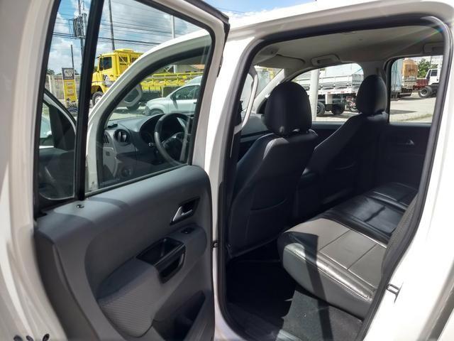 VW Amarok 2.0 Trendline TDI 4x4 Automatica 2013 - Foto 10