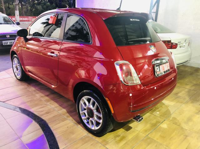 Fiat 500 2013 cult dualogic 1.4 completo revisado baixa km - Foto 5