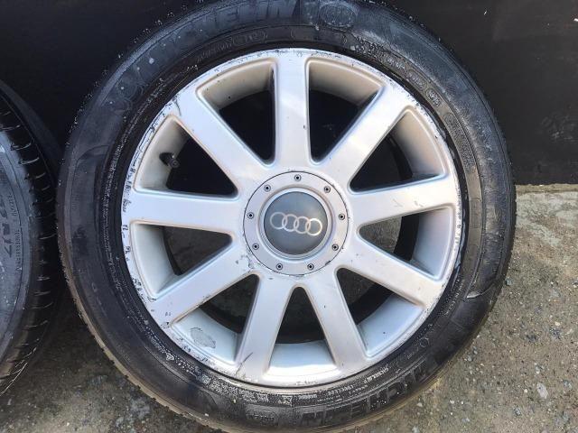 Jogo de rodas Aro 17 Audi RS4 Até 10x s/ juros - Foto 4