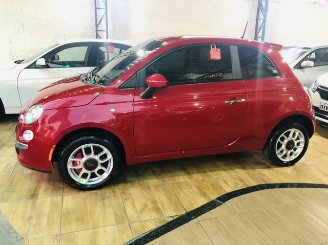 Fiat 500 2013 cult dualogic 1.4 completo revisado baixa km - Foto 3