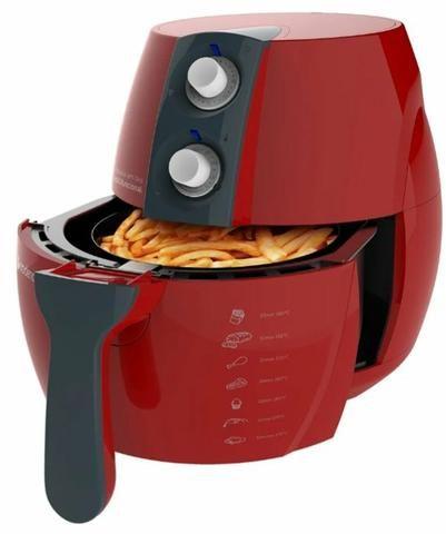 Fritadeira sem óleo air fraier Vermelha 220v cadence