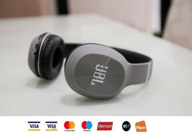 """Fone Bluetooth, FM, Cartão SD """"Maior Conforto"""" Atende ligação - Foto 2"""
