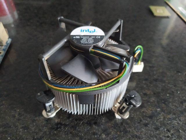 Kit PC Computador Desktop Pentium 4 + cooler + Placa Mãe Gigabyte Ga-8i865gme-775 + rede - Foto 3