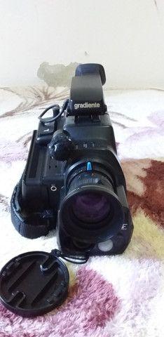Filmadora Vhs 8:1 Mm Gradiente Gc-160c - Foto 5