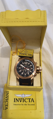Relógio Invicta Signature II 7427, 52mm, certificado, original, aceito cartões!