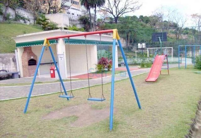 Apartamento para alugar, 52 m² por R$ 1.000,00/mês - Barreto - Niterói/RJ - Foto 12