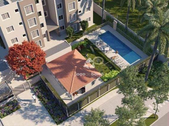 Apartamento com 2 dormitórios à venda, 46 m² por R$ 159.990 - Tijuca - Campo Grande/MS - Foto 16