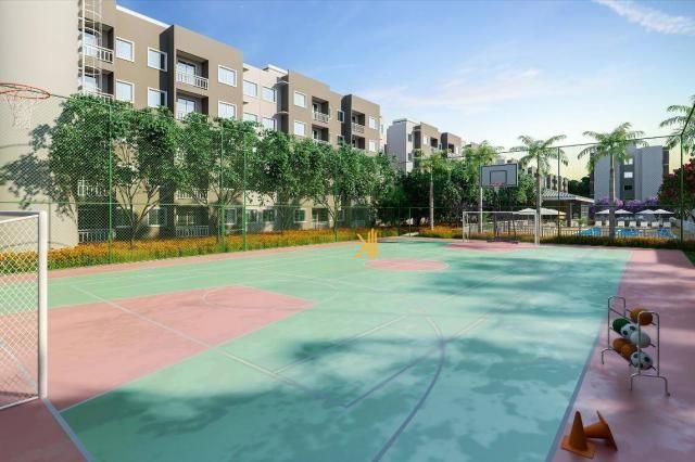 Apartamento com 2 dormitórios sendo 1 suíte à venda, 49 m² por R$ 152.500 - Centro - Euséb - Foto 2