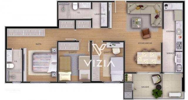 Apartamento com 1 dormitório à venda, 41 m² por R$ 315.000,00 - São Francisco - Curitiba/P - Foto 18