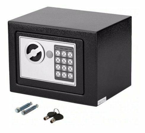 Cofre com chave , digital teclado