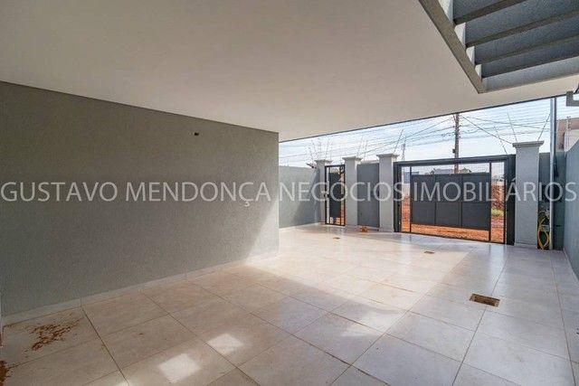 Belíssima casa térrea nova no bairro Rita Vieira 1-  Com duas suites - Foto 5