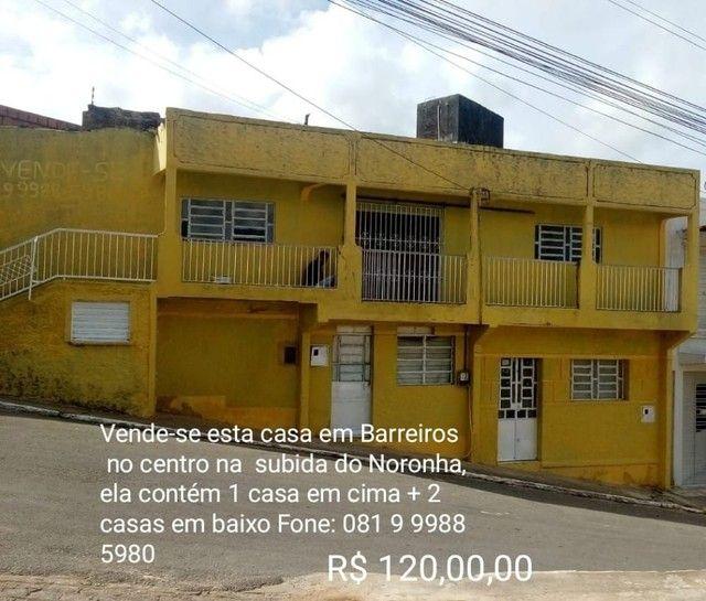 Vende-se esta casa em Barreiros na subida do Noronha Noronha centro  - Foto 2