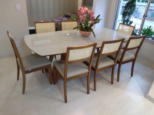 Mesa de madeira maciça pronta entrega  - Foto 2
