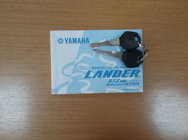 XTZ 250 Lander Blueflex ABS - 2020 - Foto 9