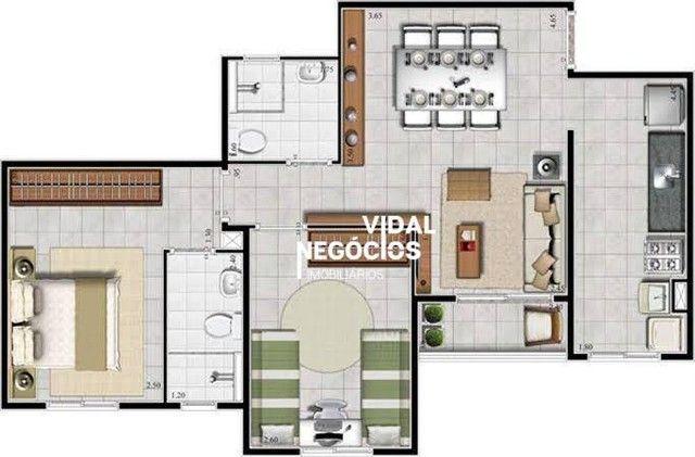 Apartamento no Ed. Eco Parque - Águas Lindas - Ananindeua/PA - Foto 13