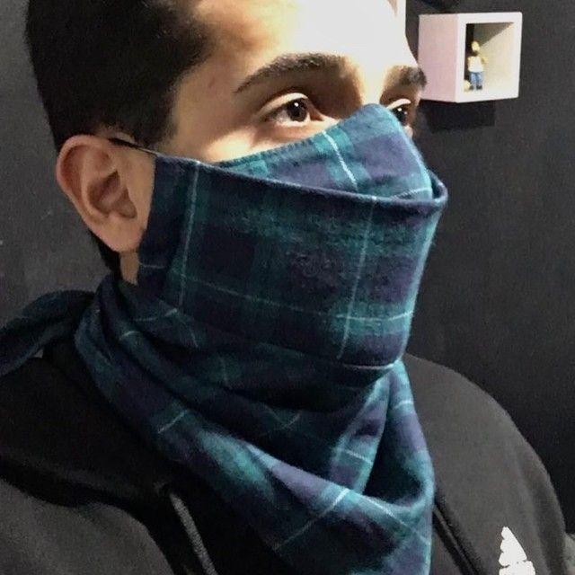 Máscara lenço e máscaras  - Foto 4