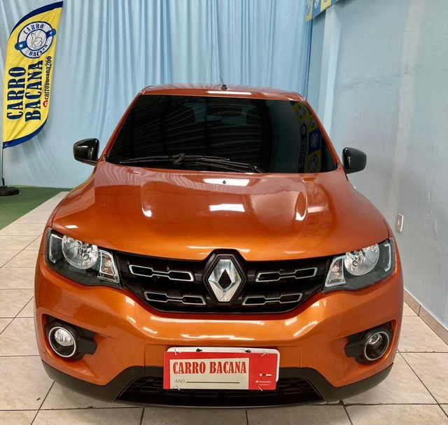 Renault Kwid Intensive 2019 completo! ipva e transferência grátis!!!