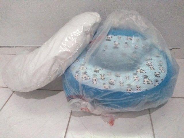 Assento para bebê e almofada de amamentação - Foto 2