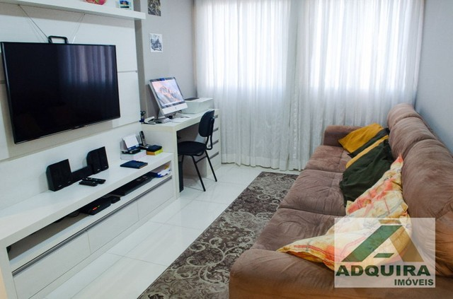Apartamento com 3 quartos no Edifício Vitória Regia - Bairro Centro em Ponta Grossa - Foto 2