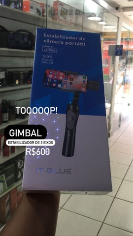 GIMBAL estabilizador de imagem pra câmera ou celular.
