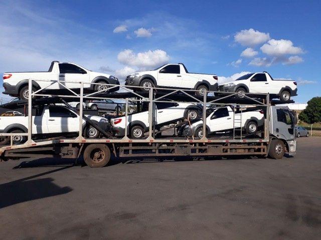 Ford Cargo Cegonha, 7 carros. - Foto 3