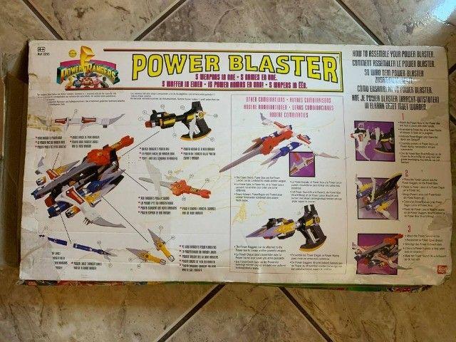 Power Blaster Mighty Morphin Power Rangers Original Bandai - Foto 2