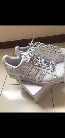 Tênis Adidas Superstar tamanho 38