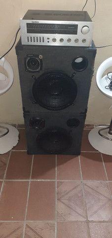 Vendo esse som modulado R$ 600.00 - Foto 5