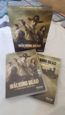 DVD The Walking Dead 1ª Temporada - 3 Discos - Usado