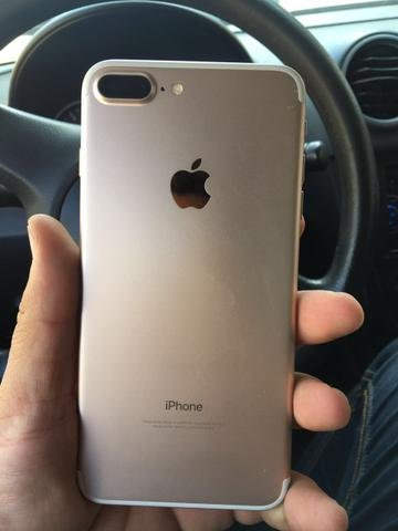 IPhone 7 Plus Gold 4g anatel completo impecável