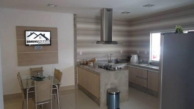 Samuel Pereira oferece: Casa RK 3 Suites 1ª Rua Sobradinho Nova Moderna Finíssimo Acabamen - Foto 3