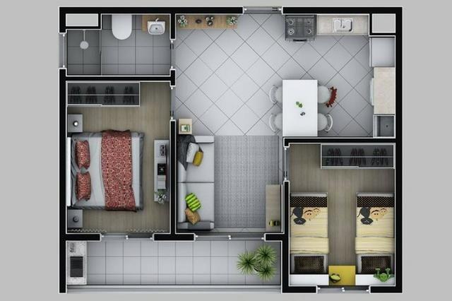 Parque Estação Gianetti Condomínio Clube 2 Doms 50m² - Foto 14